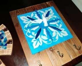 Porta llaves con el espíritu santo