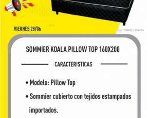 Sommier Koala Pillow Top 1.60x2.00