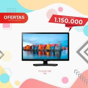 TV LG 24 pulgadas FHD