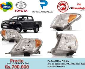 Faro Toyota Hilux 2005 2006 2007 2008 Pick Up. El Par