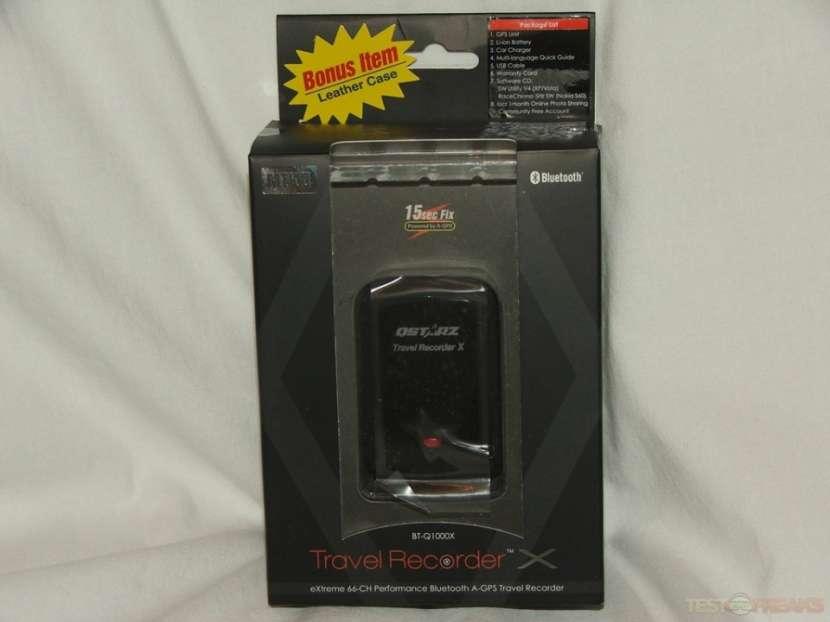 Qstarz BT-Q1000X Bluetooth GPS Grabador de viaje - 0