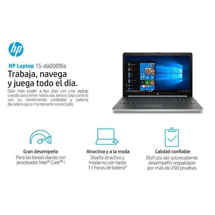 Notebook HP - I3 - 8 GB - 1 TB - A ESTRENAR, EN CAJA - 1