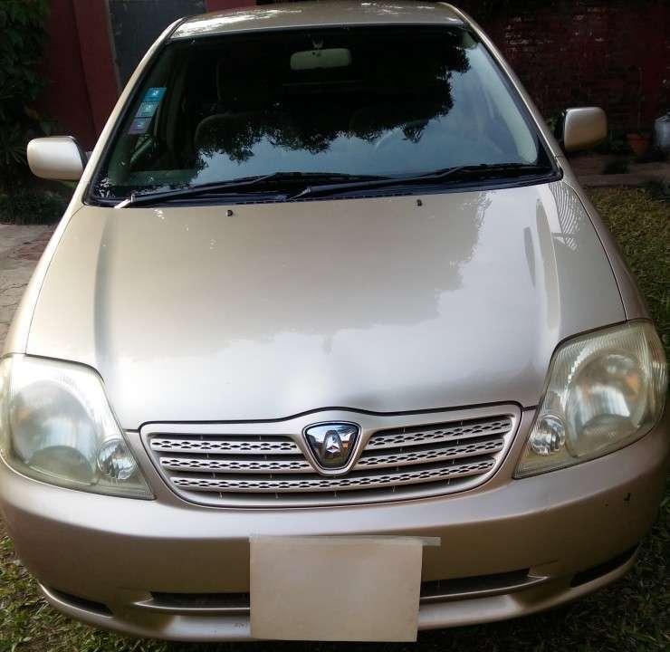 Toyota Allex 2003 - 2