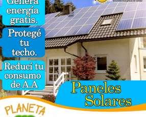 Panel solar de Planeta Eco