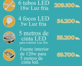 Tubos focos y cintas LED de Planeta Eco