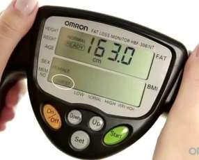 Biompedancia o medidor de grasa corporal