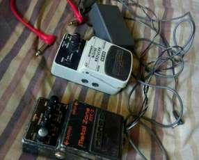 Metal Zone y Noise reduccion