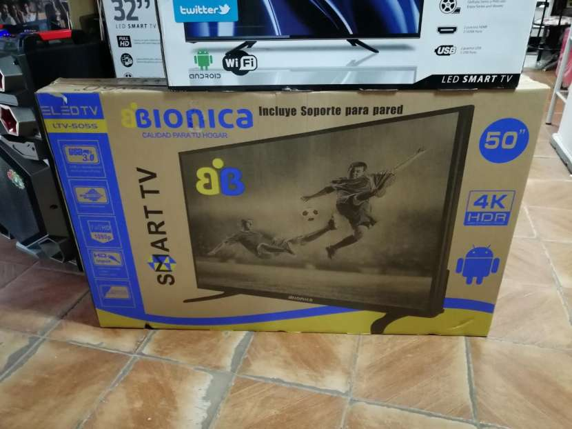 TV LED Smart Bionica 50 pulgadas Full HD 4K - 0