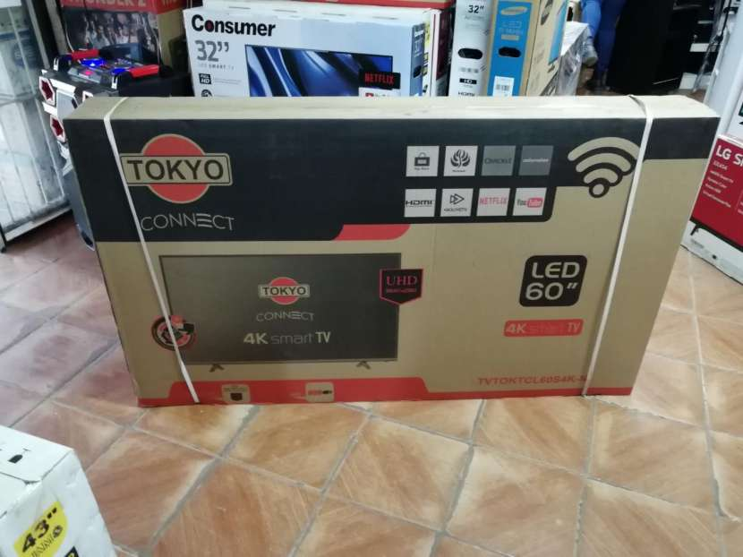 TV LED Smart Tokyo 60 pulgadas UHD 4K - 0