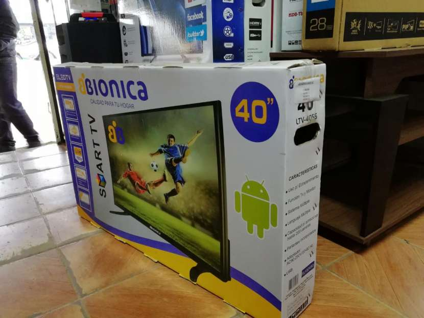 TV LED Smart Bionica 40 pulgadas Full HD - 2