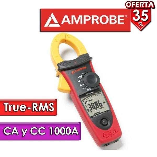 Pinza amperimétrica Industrial Amprobe ACDC-54NAV - 0