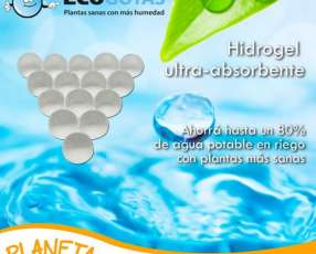 Hidrogel para riego de plantaciones y para tu jadín