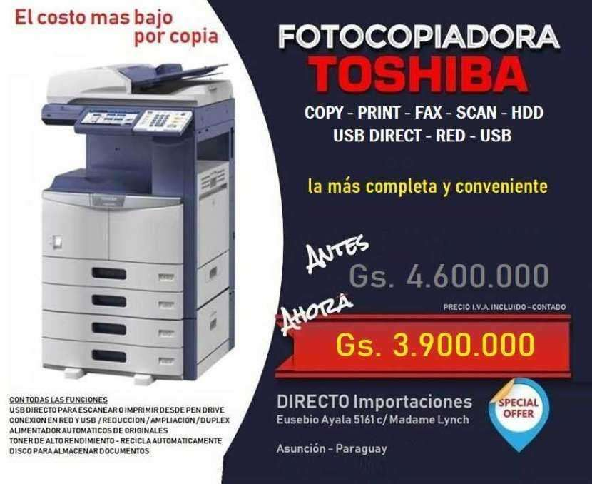 Máquina fotocopiadora comercial Toshiba - 0