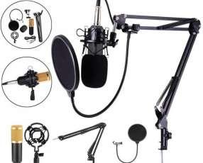 Micrófono de estudio kit completo