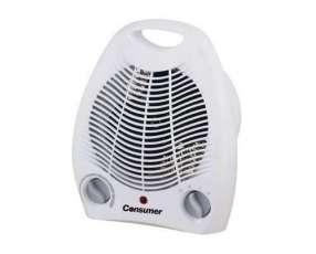 Estúfa eléctrica con ventilador consumer 2000W