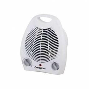 Estufa eléctrica con ventilador Consumer 2000W