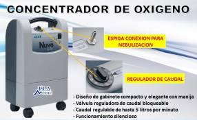 Concentrador de oxigeno americano