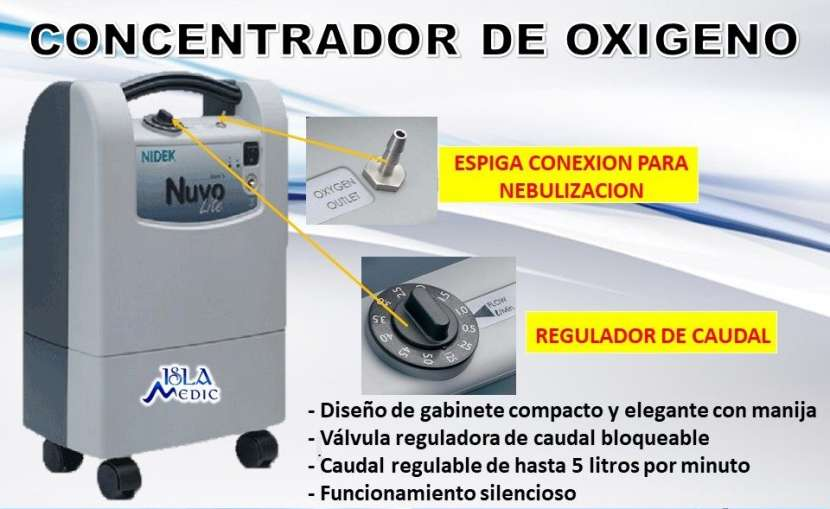 Concentrador de oxigeno americano - 0