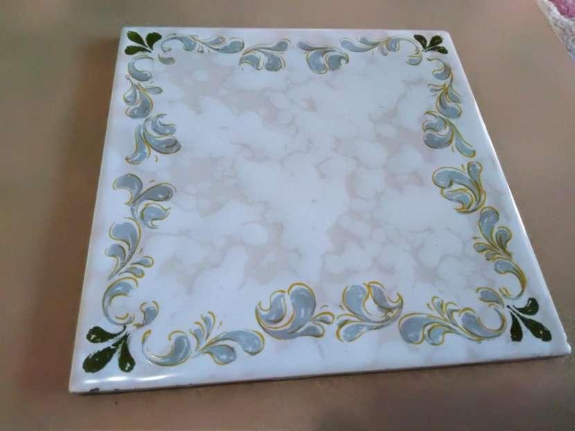 Azulejos antiguos importados para mosaico - 5