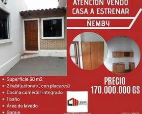 Casa económica en Ñemby