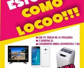 TV Celular y Lavarropas
