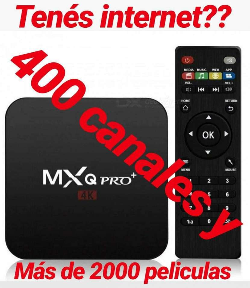 Tv box, canales premium series y películas gratis - 0