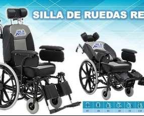 Silla de ruedas reca con asiento tipo vehículo