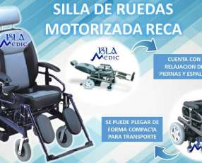 Silla de ruedas motorizada reca