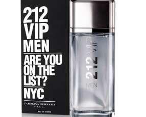Perfume vip men 212 200 ml de carolina herrera