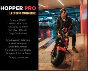Moto eléctrica chooper pro