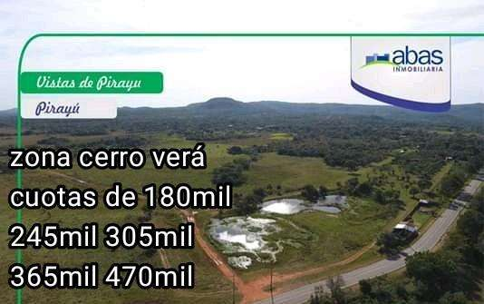 Terrenos en Pirayú zona cerro verá - 0