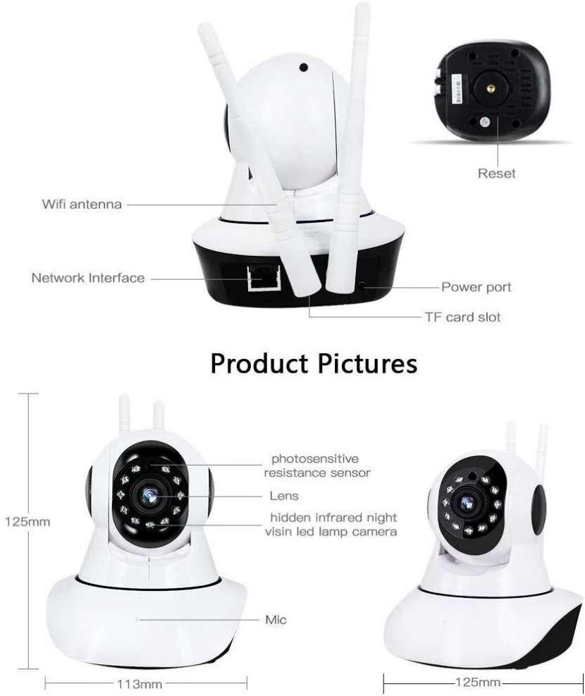 Cámara de seguridad robótica - 0