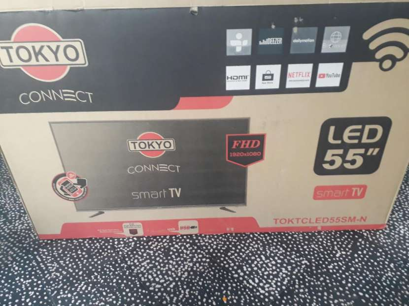 TV smart tokyo 55 pulgadas - 0