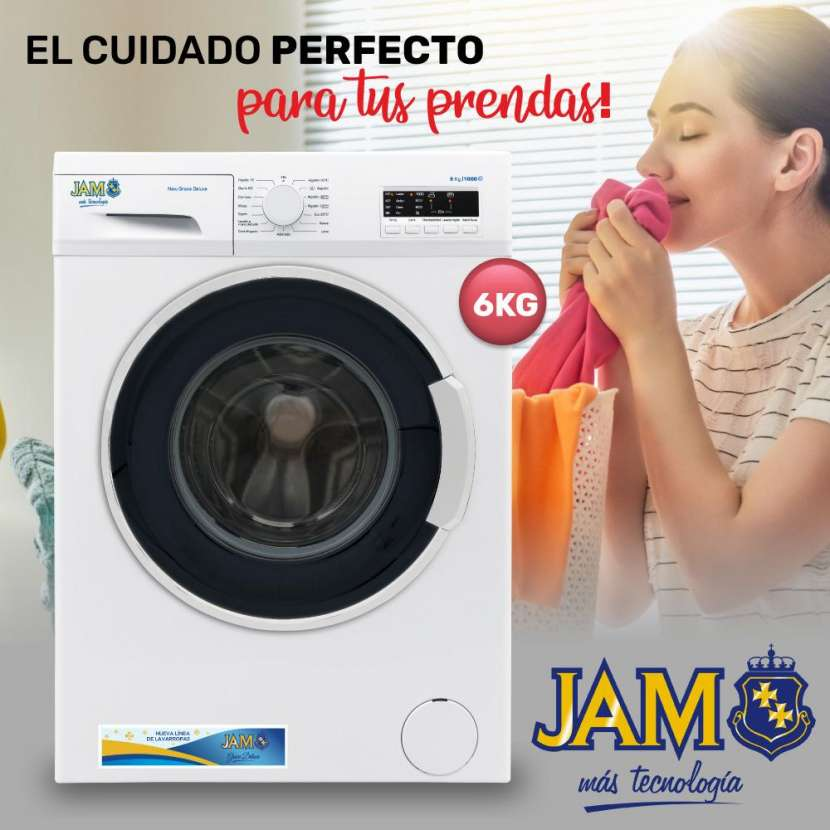 Lavarropa automatico jam de luxe 6 kg - 0
