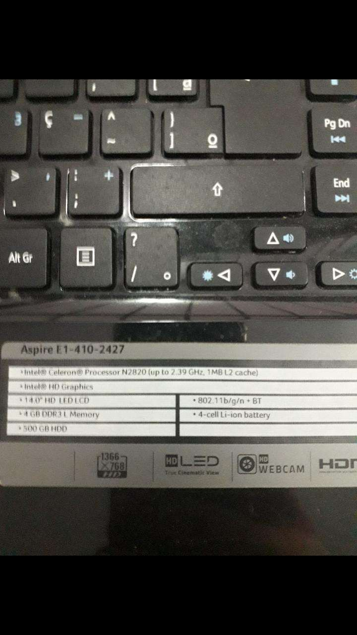 Notebook Acer - 2