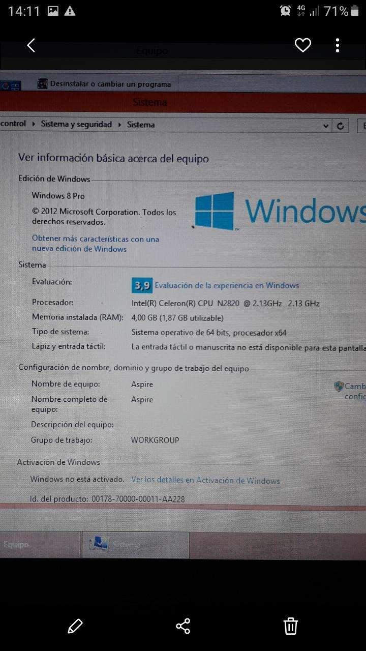 Notebook Acer - 4