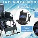Silla de ruedas motorizada estándar liliana - 0