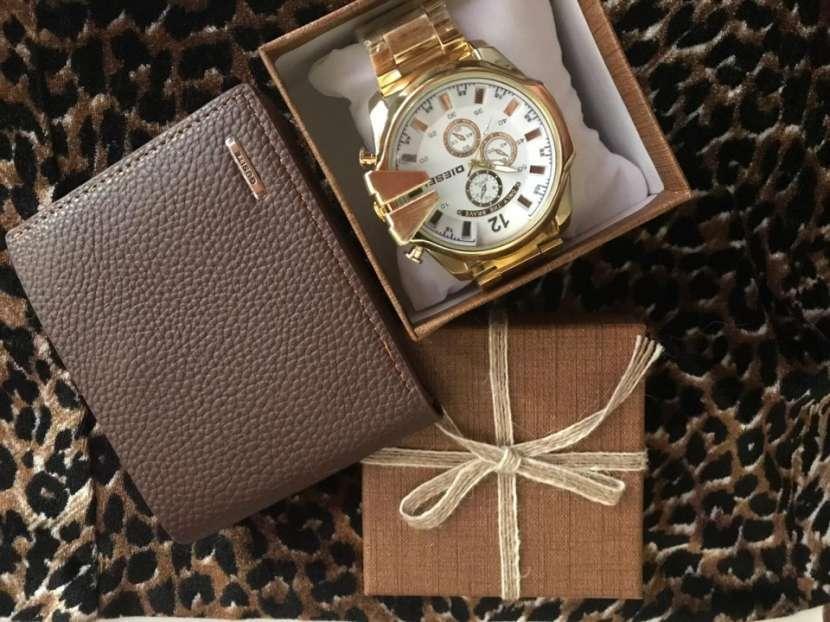 Reloj diésel y billetera - 5