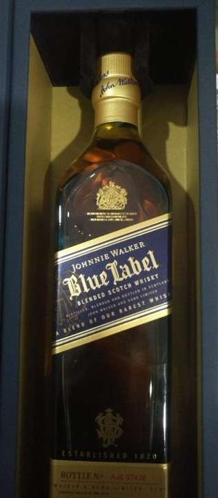 Whisky Blue Label 750 ml - 1