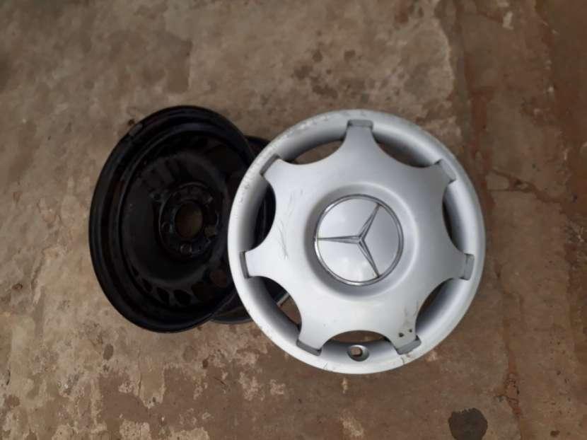 Llantas de hierro aro 15 para Mercedes Benz - 1