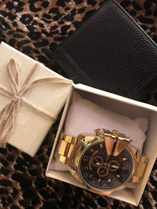 Reloj diésel y billetera - 6