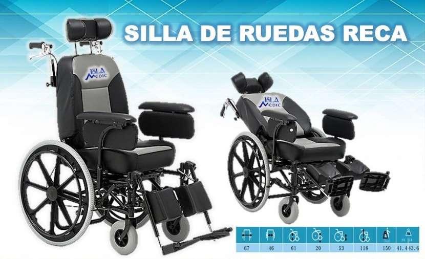 Silla de ruedas reca manual - 0