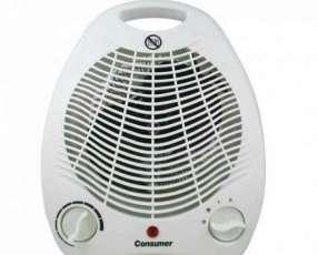 Estufa eléctrica con ventilador