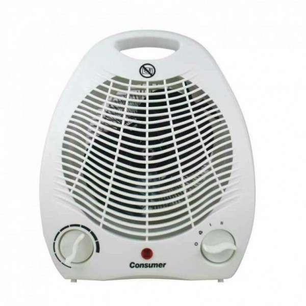 Estufa Eléctrica con ventilador - 0