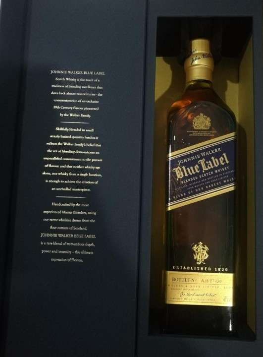 Whisky Blue Label 750 ml - 0