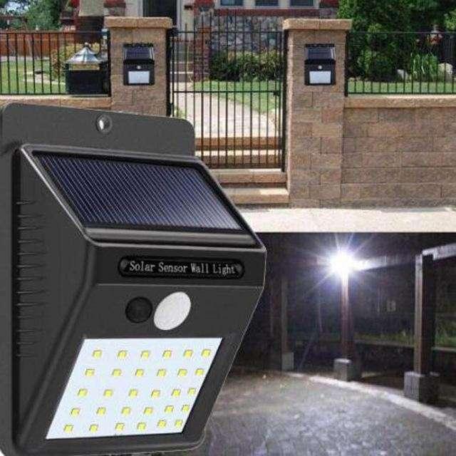 Aplique LED solar - 2