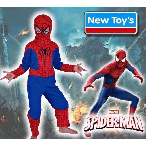 Disfraz de SpiderMan talles de 3 a 8 años - 0