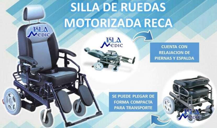 Silla de ruedas reca motorizada - 0
