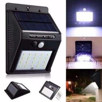 Aplique LED solar - 0