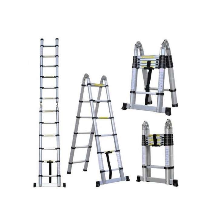 Escalera telescópica 3 en 1 Consumer - 0